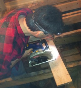 Repairing the subfloor